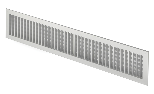 Aluminium outlet grille (compatible with RCT)