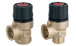 Safety valve with special regulation