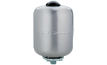 Expansion vessels for sanitary water with interchanging membrane