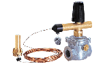 Fuel cut-off valve ISPESL qualified and calibrated, ATEX approved.  Compliant with directive PED 97/23/EC