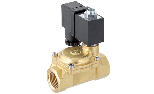 Solenoid valve for water and air - Normally Closed type