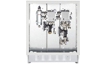 Distribution modules high + low temperature with mixing valve, electronic circulation pumps and open manifold.