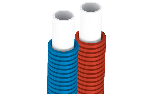 Gerpex RA double (red + blue) with corrugated sheat