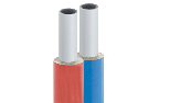 Gerpex RA double (red + blue) insulated pipe