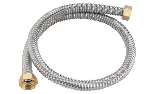 Stainless steel flexible hose kit for connection to expansion tank