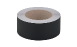 Black adhesive tape in aluminium