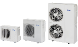 DC-Inverter Air-Water monobloc heat pump Mirai SMI  for Heating andCooling Residential environments with plant management system integrated