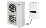 DC-Inverter Air-Water split heat pump Mirai Split  for Heating and Cooling Residential environments
