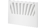 Front panel for dehumidifier for recessed wall mounting EPD 24-4PI, RAL 9010 white color
