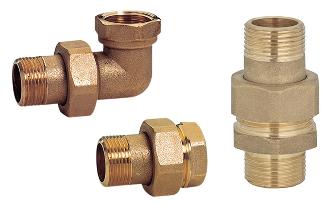 Raccordi idraulici a stringere e a pressare, accessori e materiali di consumo  Emmeti