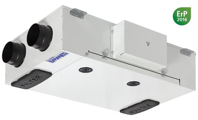 Ventilazione meccanica controllata recupera slim emmeti for Ventilazione meccanica